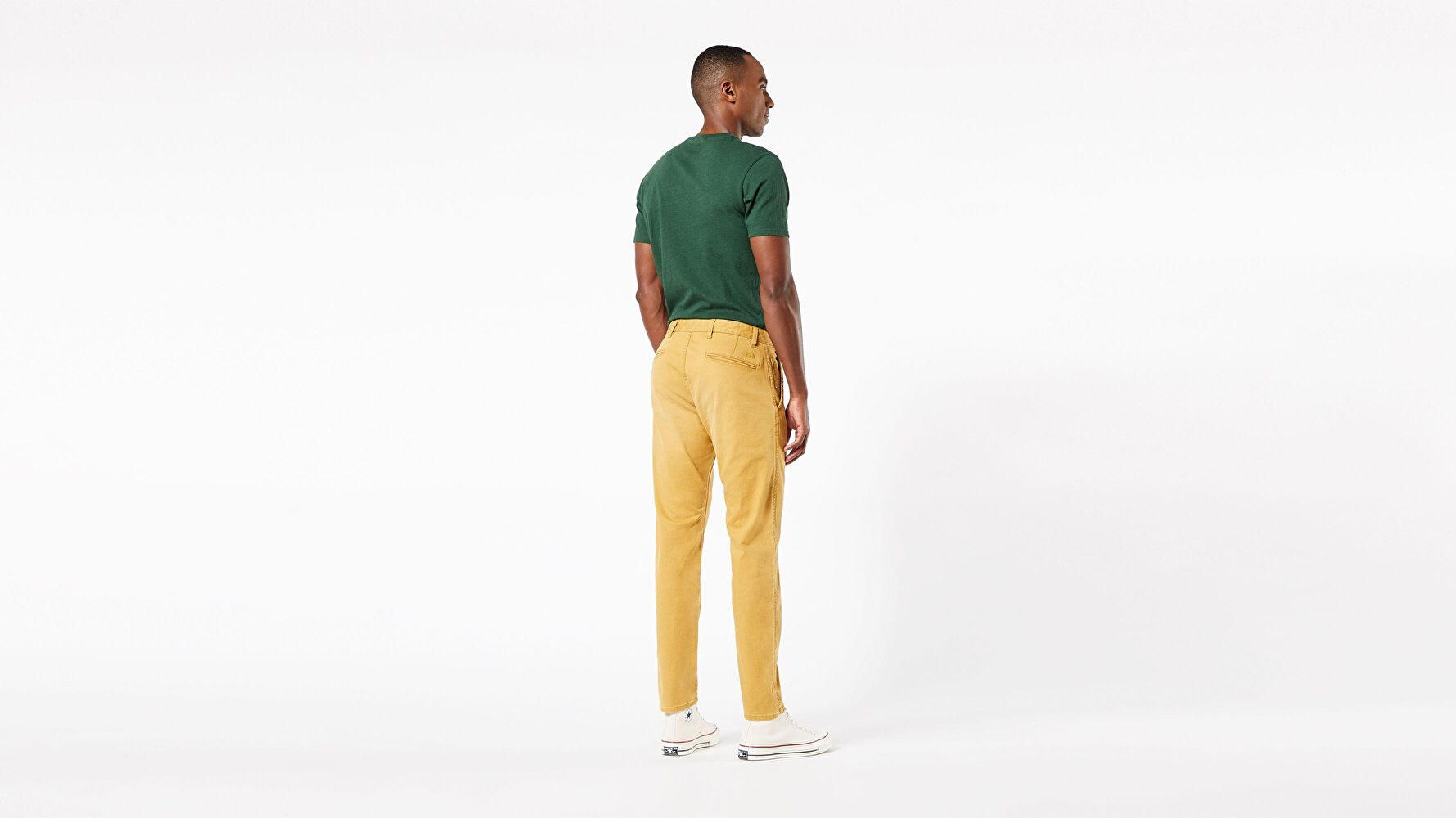 Waterless® Sustainable Alpha Khaki, Tapered Fit Pantolon