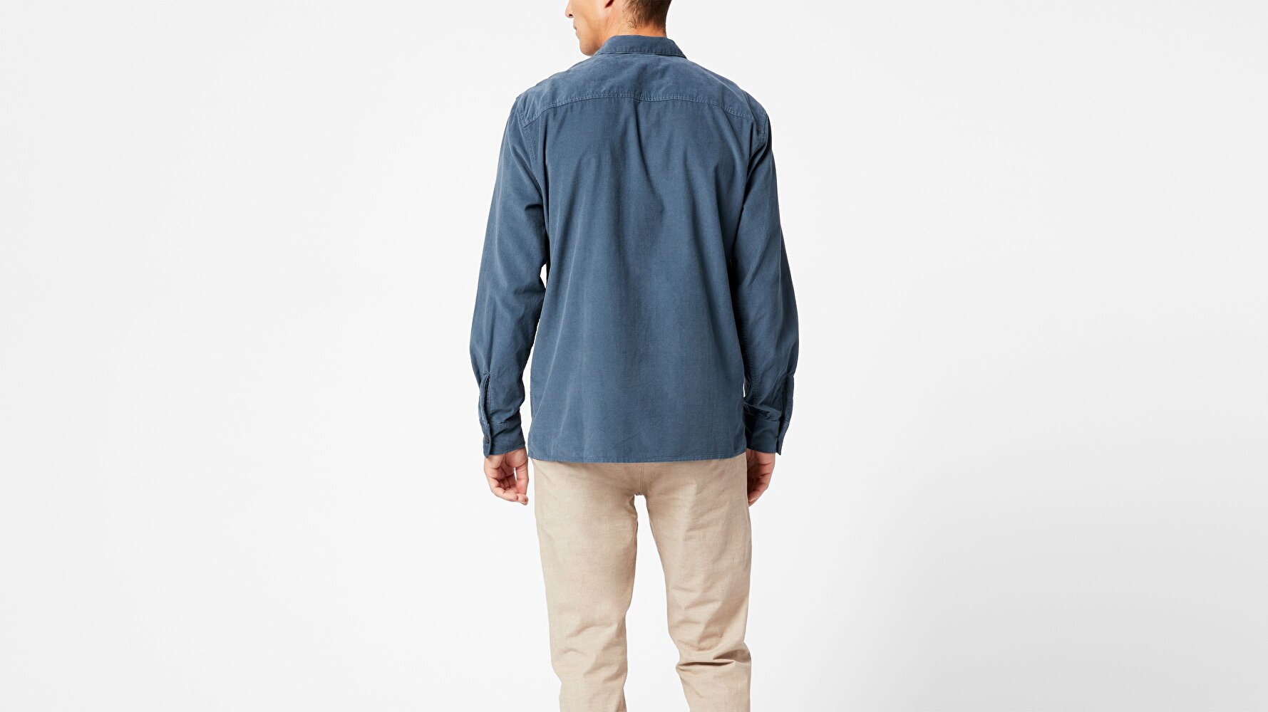 Notched Collar Ceket Gömlek