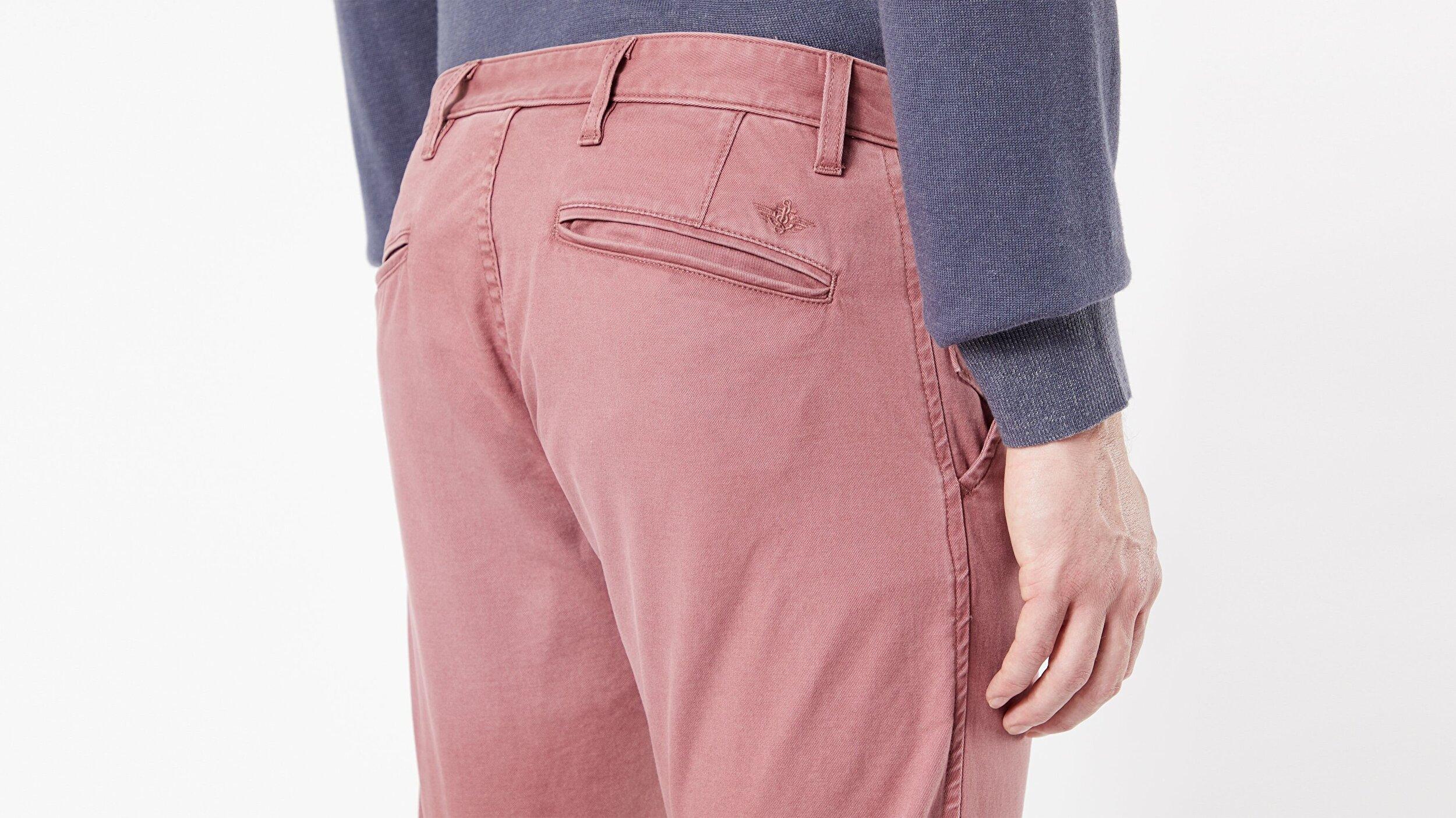Waterless® Sustainable Alpha Khaki, Tapered Fit Pantolon