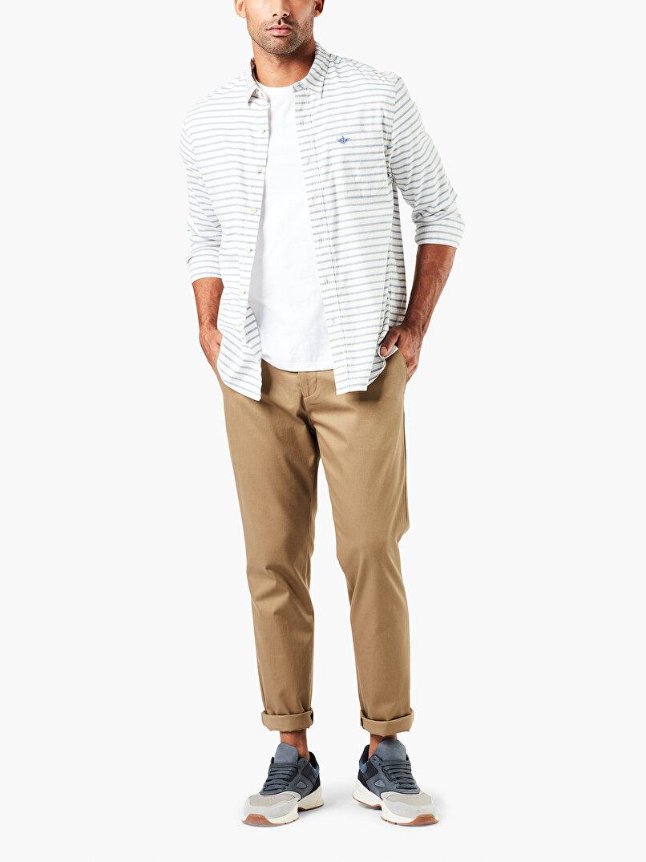 Signature Khaki, Slim Pantolon