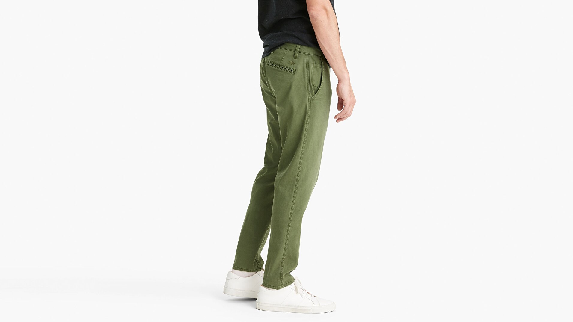 Waterless® Sustainable Alpha Khaki, Tapered Pantolon