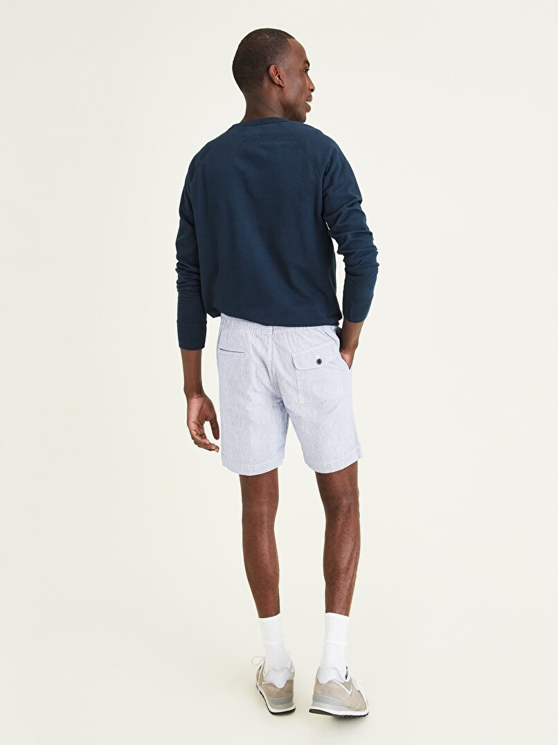 Tapered Fit Pull-On Chino Şort