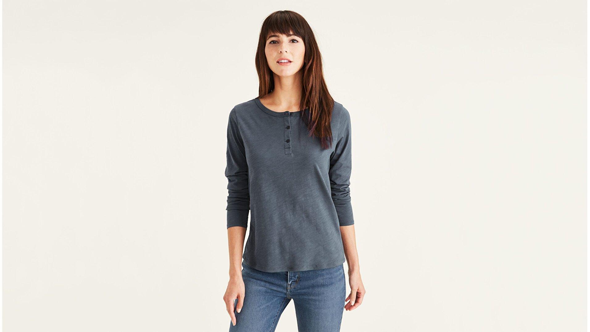 Henley Tişört