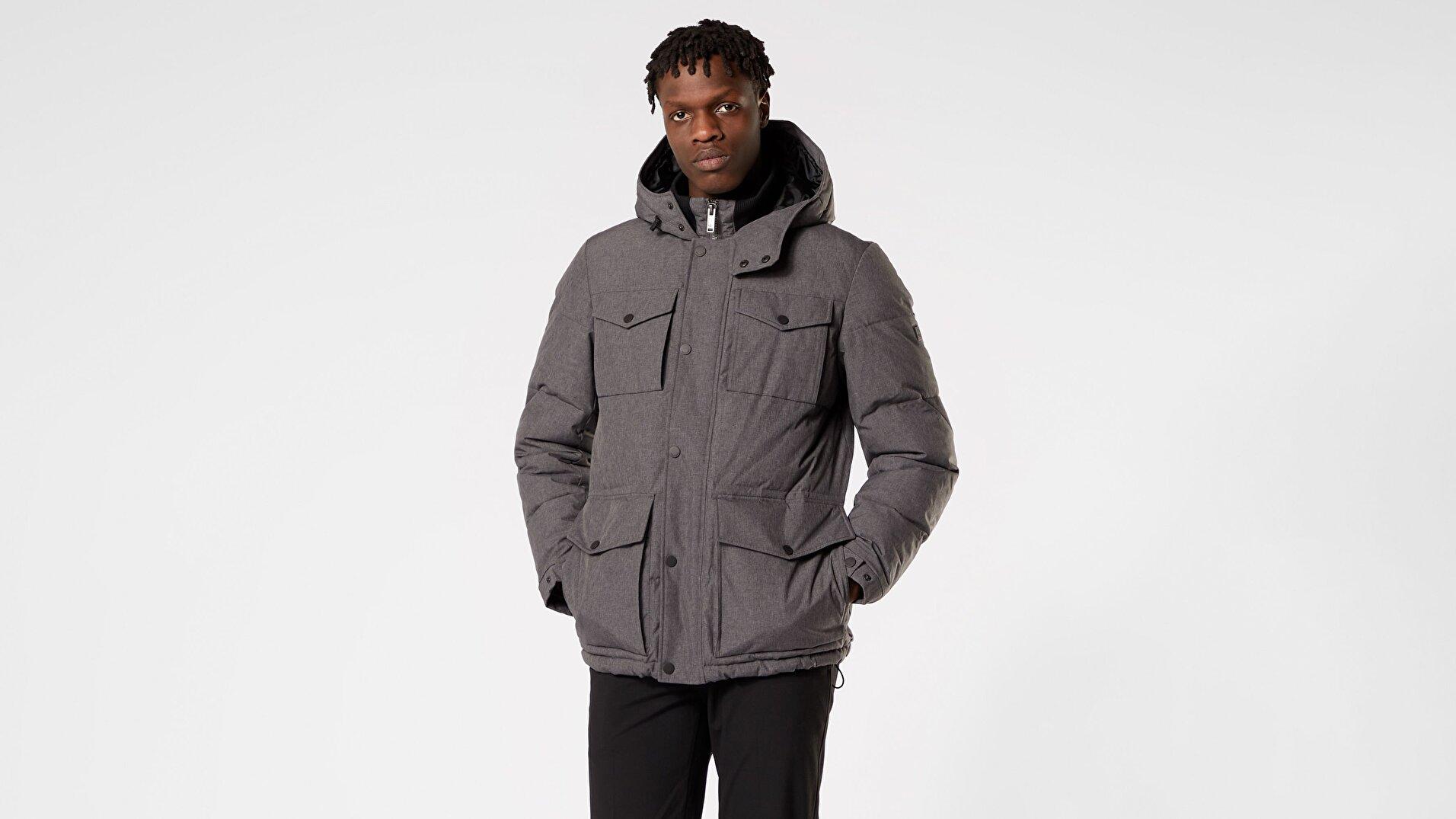 Arctic Cloth Dört Cep Puffer