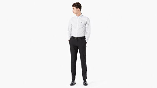 Alpha Chino, Slim Fit-Black